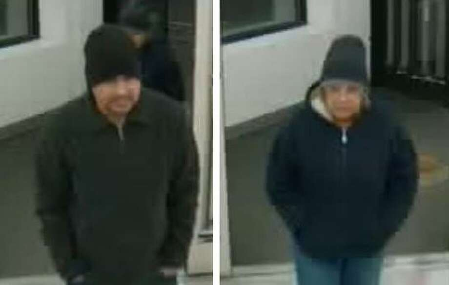 Police are asking for the public's help in identifying these two suspects in connection with an armed robbery Sunday at Walgreens Pharmacy on Campbell Avenue.