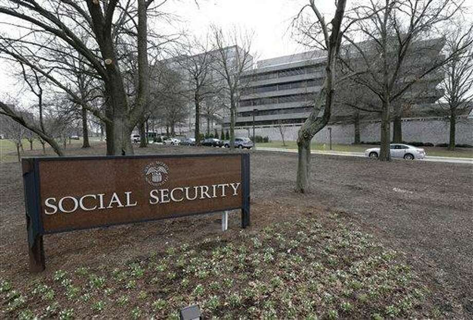 "The Social Security Administration's main campus is seen in Woodlawn, Md., Friday, Jan. 11, 2013. The federal agency issued an official reprimand to an employee after months of flatulence problems, but the agency says it has since retracted the rebuke. A four-page reprimand letter dated Dec. 10 charges the employee with ""conduct unbecoming a federal employee"" and ""creating a hostile work environment"" because of the repeated gas passing. (AP Photo/Patrick Semansky) Photo: AP / AP"