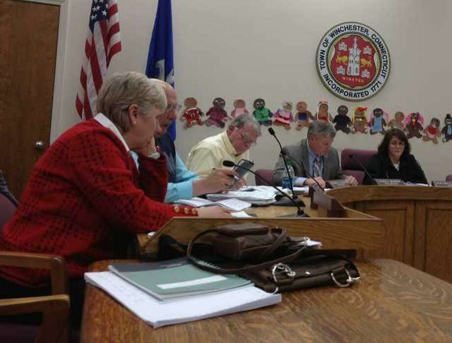 JASON SIEDZIK/Register Citizen The Board of Selectmen have scheduled a special meeting to give Town Manager Dale Martin a performance review.