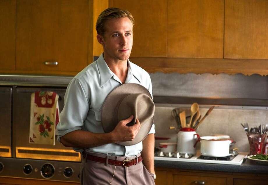 "Wilson Webb/Warner Bros. Pictures photo: Ryan Gosling is apt to break hearts as well as heads as Sgt. Jerry Waters in ""Gangster Squad."" Photo: AP / Warner Bros2013"