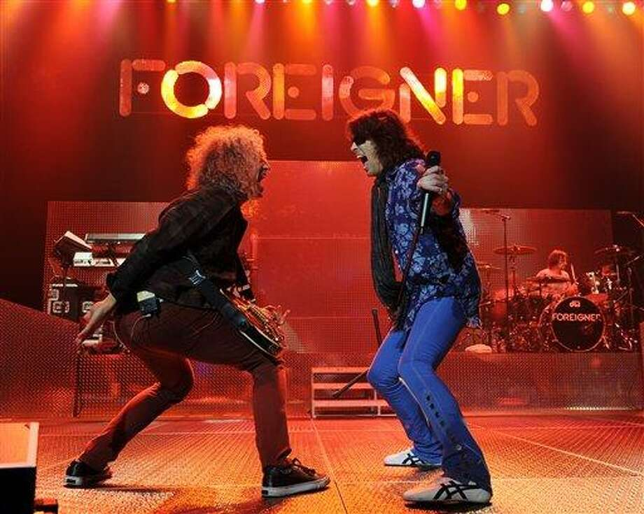 Associated Press file photo: Foreigner Photo: Jeff Daly/Invision/AP / Invision2013