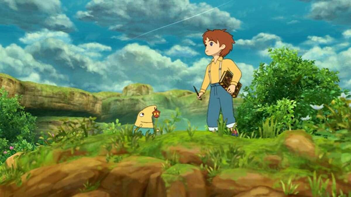"""Namco Bandai Games photo: Rich animation makes """"Ni no Kuni"""" a joy to play."""