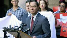 U.S. Congressman Joaquin Castro, seen in Austin on Aug. 16, 2017, claimed the U.S. economy would be negatively impacted if the Trump administration eliminated an immigration protection mostly benefiting Central Americans.