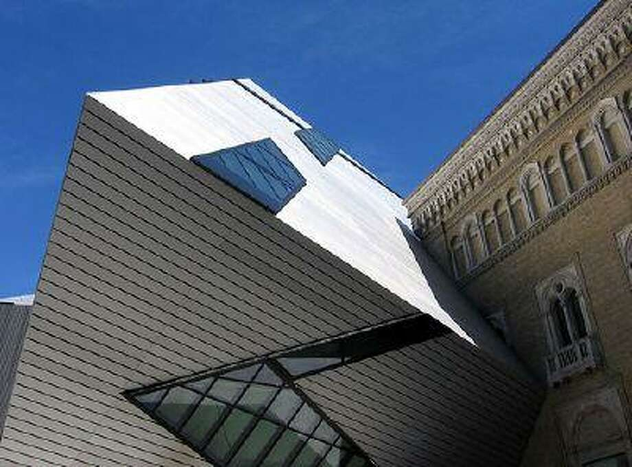 The Michael Lee-Chin Crystal, at the Royal Ontario Museum, in Toronto.