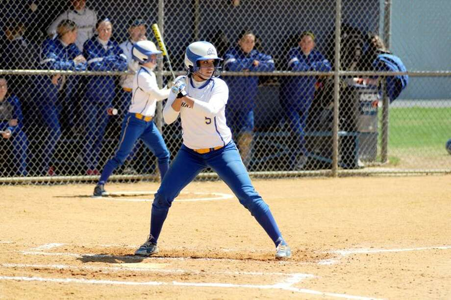New Haven's Christina Gelardi. (Photo courtesy of New Haven Athletics)