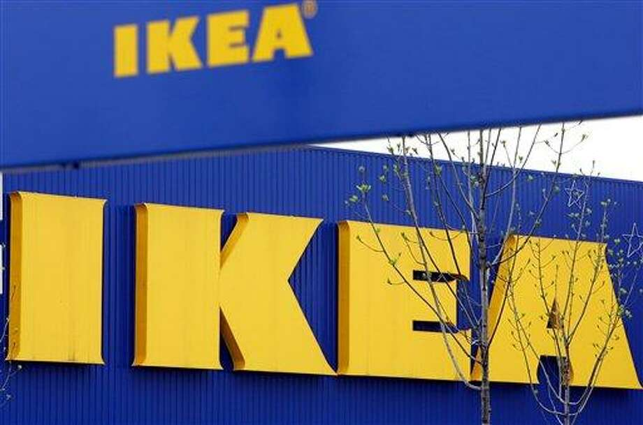 In this April 27, 2006 file photo, an exterior view of the Ikea furniture store in Duisburg, western Germany. Ikea says it has withdrawn 17,000 portions of moose lasagna from its home furnishings stores in Europe after traces of pork were found in a batch tested in Belgium. (AP Photo/Frank Augstein, File) Photo: AP / AP