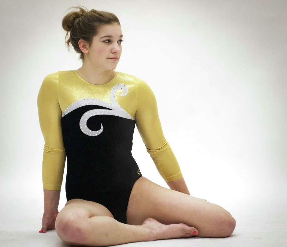 All Area  Gymnastics MVP: Stefani Taschner, Hand.                                    Photo by Melanie Stengel/Register