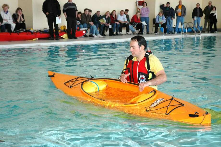 Contributed photo: Martin Torresquintero, adventure coordinator for the city, will be among the paddling experts at the Southern Connecticut Small Craft Symposium Saturday.