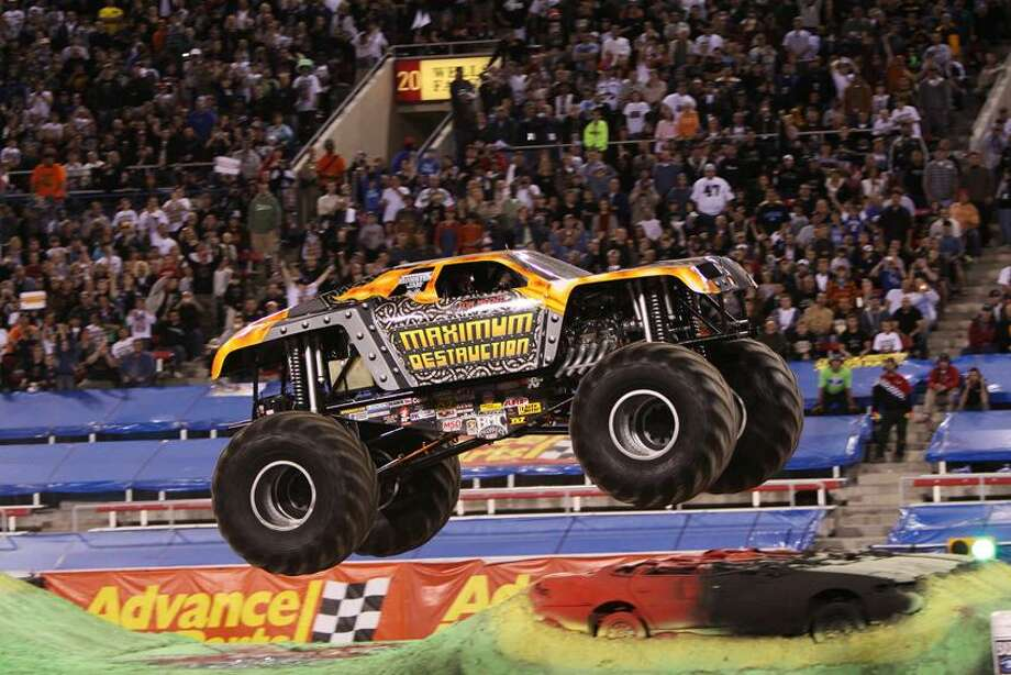 Contributed photo: Maximum Destruction celebrates 10 years as a Monster Jam performer.