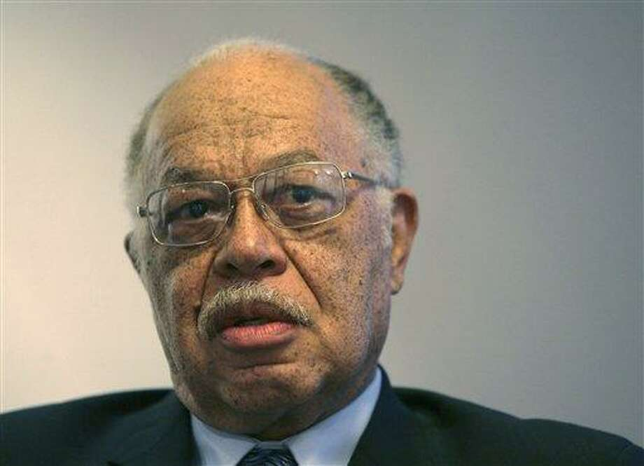 In this March 8, 2010 file photo, Dr. Kermit Gosnell is seen during an interview with the Philadelphia Daily News at his attorney's office in Philadelphia. Gosnell, an abortion doctor who catered to minorities, immigrants and poor women at the Women's Medical Society, started trial Monday, March 18, 2013, on eight counts of murder. The Associated Press file photo. Photo: AP / Philadelphia Daily News