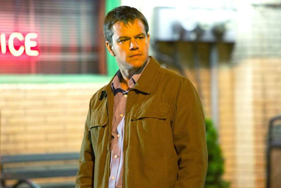 "This undated publicity film image provided by Focus Features shows Matt Damon starring as Steve Butler in Gus Van Sant's contemporary drama, ""Promised Land,"" a Focus Features release. (AP Photo/Focus Features, Scott Green) Photo: AP / AP2012"