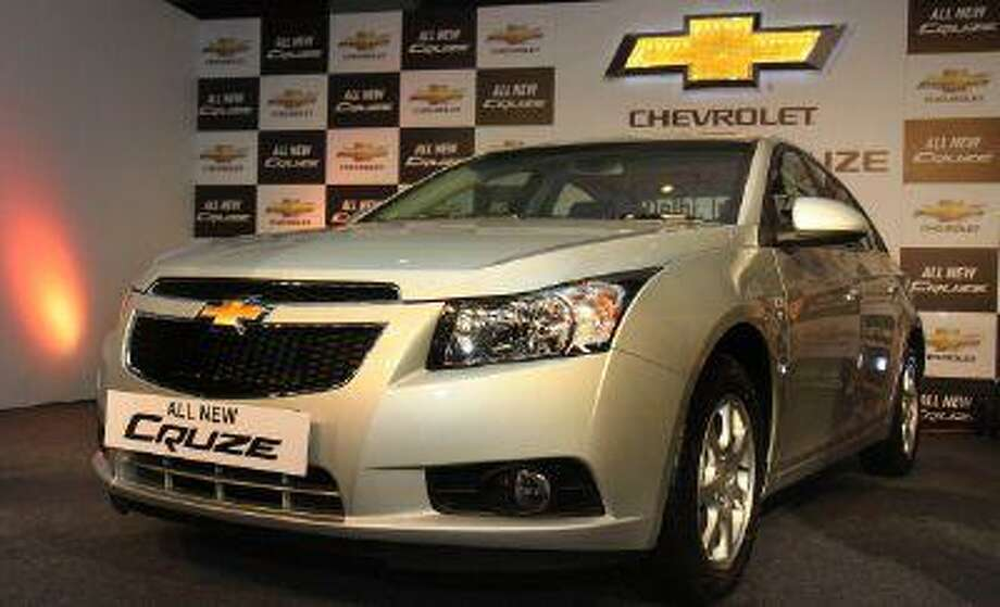 General Motors Co. is recalling nearly 293,000 Chevrolet Cruze compact cars in the U.S. because the power-assisted brakes can fail. (Photo By Sonu Mehta / Hindustan Times via Getty Images) / 2012 Hindustan Times