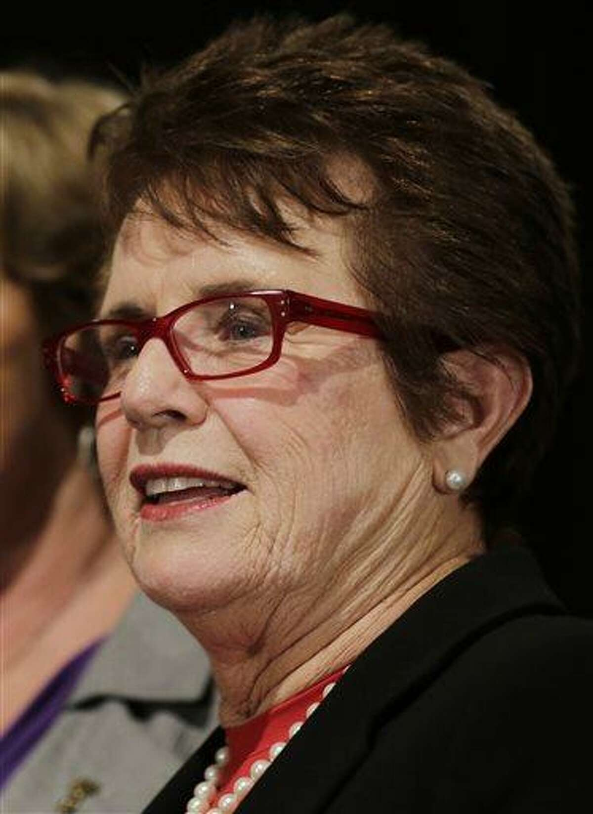 Billie Jean King was instrumental in helping form the Women's Tennis Association 40 years ago. (AP Photo/Charles Krupa, File)