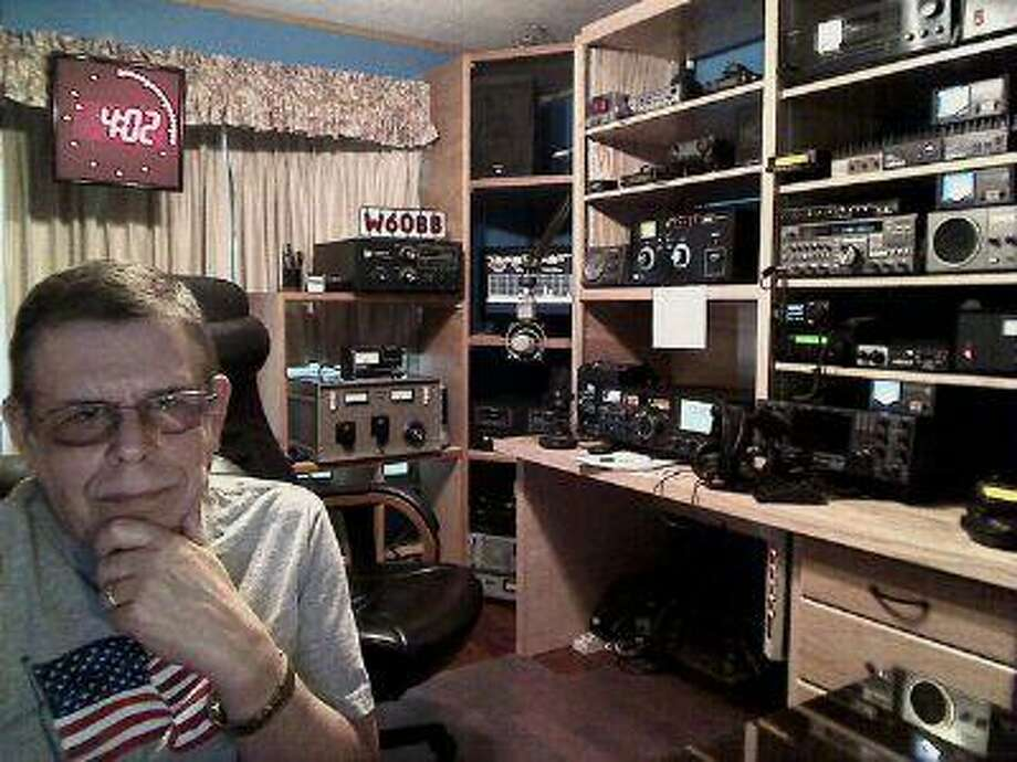 This publicity image released by SiriusXM shows Art Bell his home studio in Pahrump, Nev. (Art Bell) Photo: AP / SiriusXM net