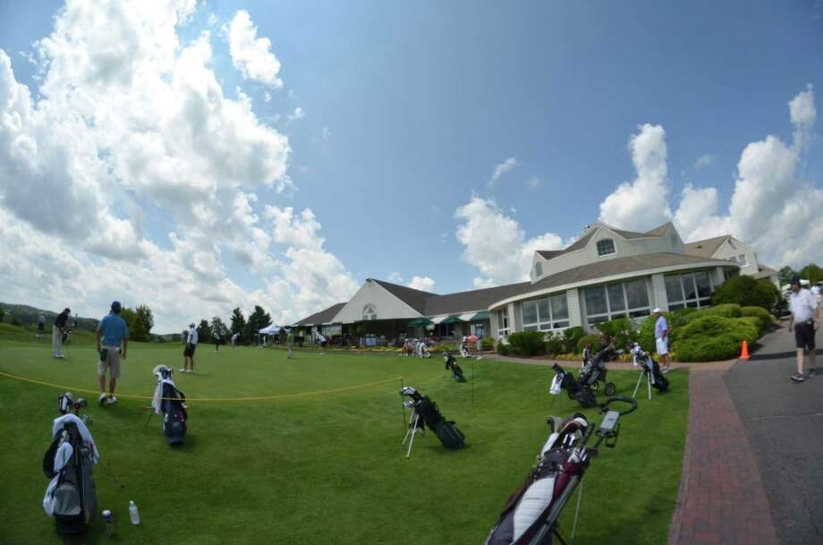 The clubhouse was packed as Torrington Country Club hosted the 79th Annual Connecticut Open Championship starting Monday.John Berry - Register Citizen