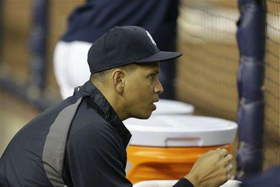 New York Yankees Alex Rodriguez. (AP Photo/Kathy Willens) Photo: AP / AP