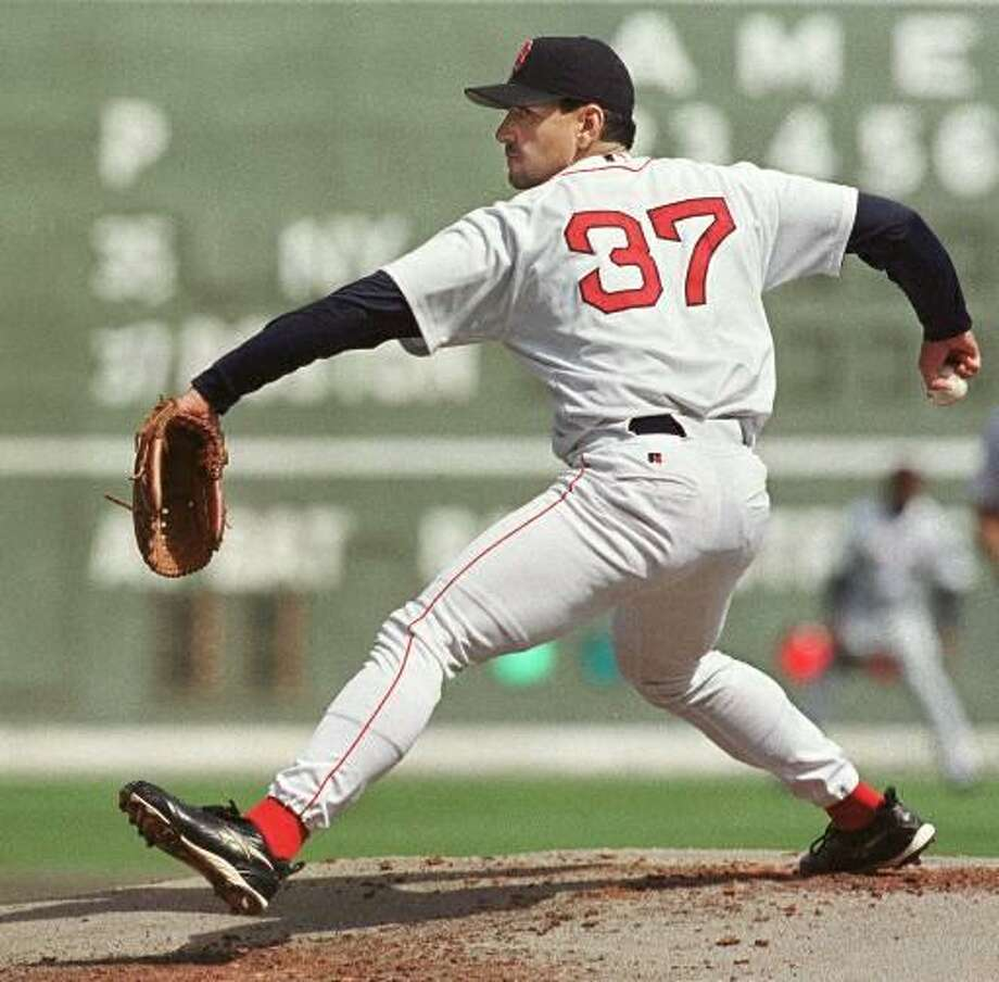 Former Red Sox pitcher Frank Casitllo. (Associated Press file photo)