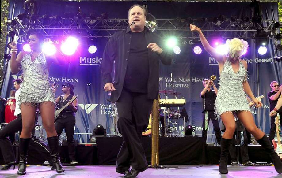 KC and the Sunshine Band entertained thousands Saturday on the New Haven Green. Mara Lavitt/Register