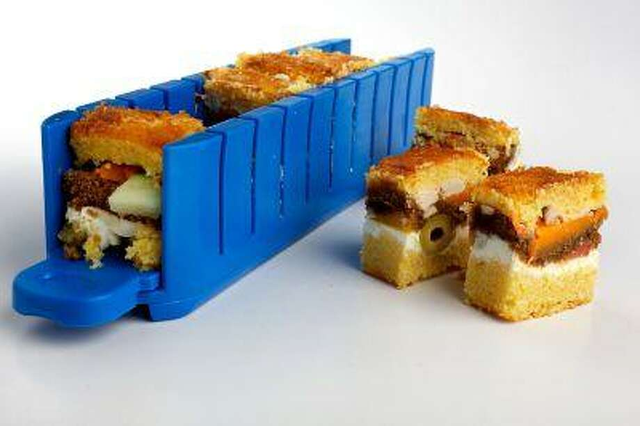 The Five-Minute Stackable Appetizer Maker allows you to layer any combination of foods. Photo: The Washington Post / THE WASHINGTON POST