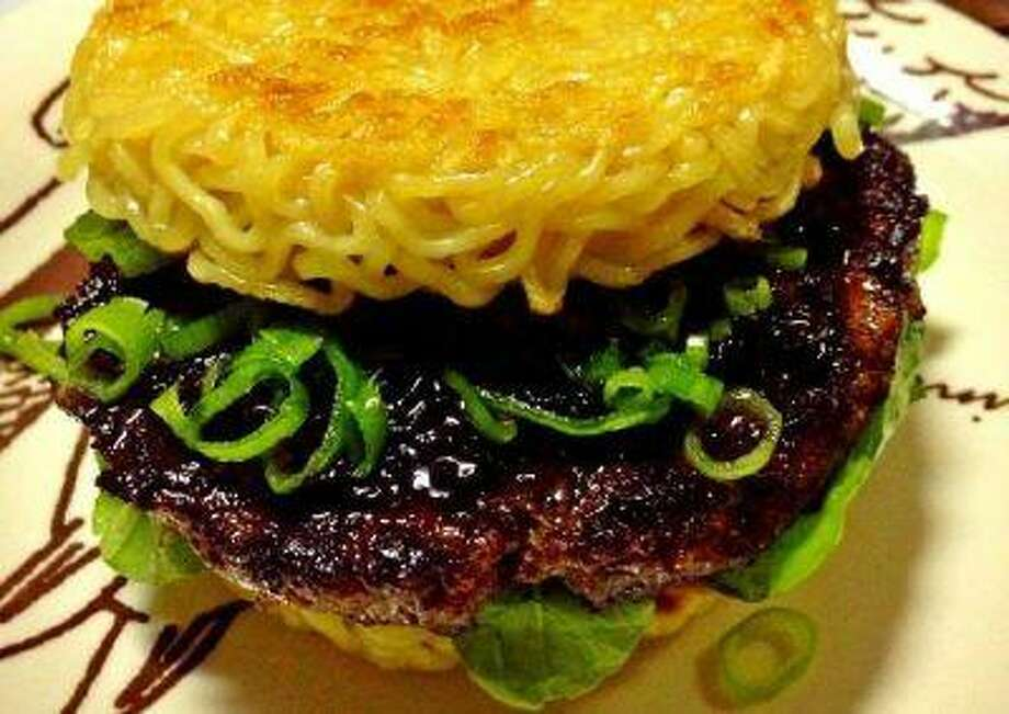 The ramen burger is being hailed as the new cronut.
