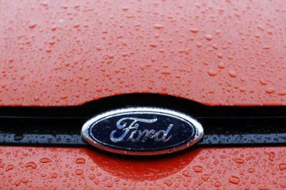 The Ford logo is seen on a vehicle at a Ford car plant. Photo: REUTERS / X00337