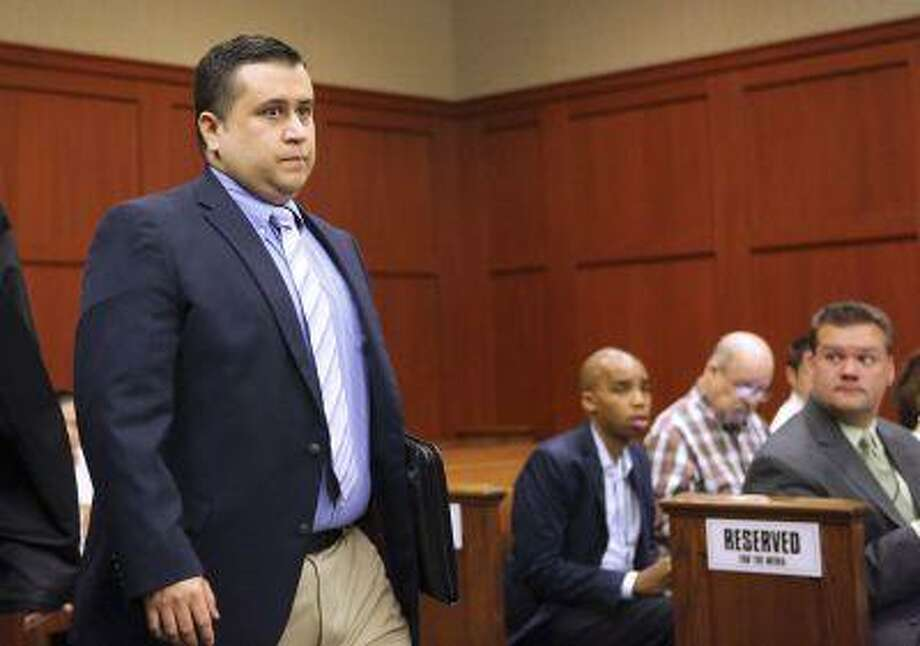 George Zimmerman arrives for a hearing in Seminole circuit court in Sanford, Fla., on Feb. 5, 2013. Photo: REUTERS / X80003