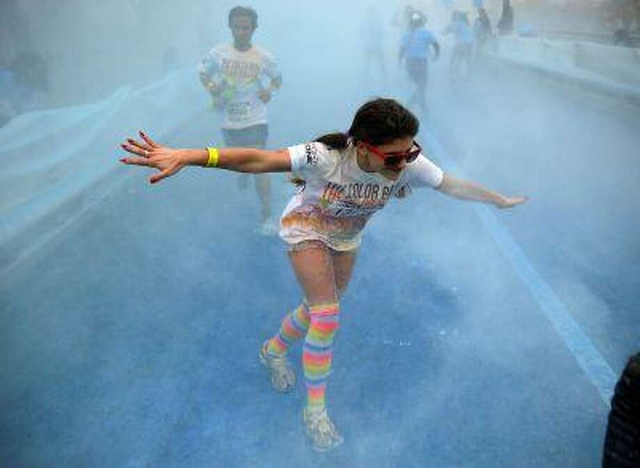 You could go from doing nothing to running a 5K in 12 weeks (AP Photo) Photo: ASSOCIATED PRESS / AP2013
