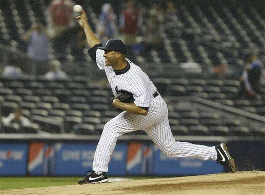 New York Yankees' Mariano Rivera. (AP Photo/Frank Franklin II) Photo: AP / AP