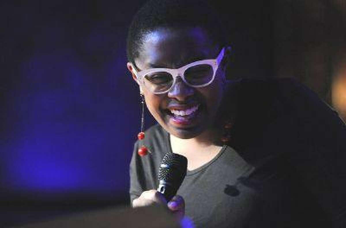 Jazz vocalist Cécile McLorin Salvant. J.P. Dodel Photography. (Jim Rassol)