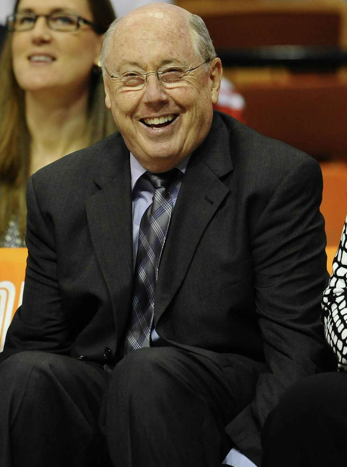 Washington Mystics head coach Mike Thibault. (AP Photo/Jessica Hill)