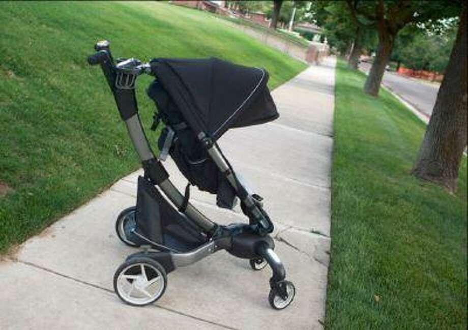 The Origami stroller (Keith Johnson/The Salt Lake Tribune)
