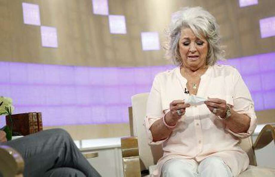 """In this publicity image released by NBC, celebrity chef Paula Deen appears on NBC News' """"Today"""" show, wednesday, June 26, 2013 in New York. Deen dissolved into tears during a """"Today"""" show interview Wednesday about her admission that she used a racial slur in the past. The celebrity chef, who had backed out of a """"Today"""" interview last Friday, said she was not a racist and was heartbroken by the controversy that began with her own deposition in a lawsuit. Deen has been dropped by the Food Network and as a celebrity endorser by Smithfield Foods. (AP Photo/NBC, Peter Kramer) Photo: AP / NBC"""