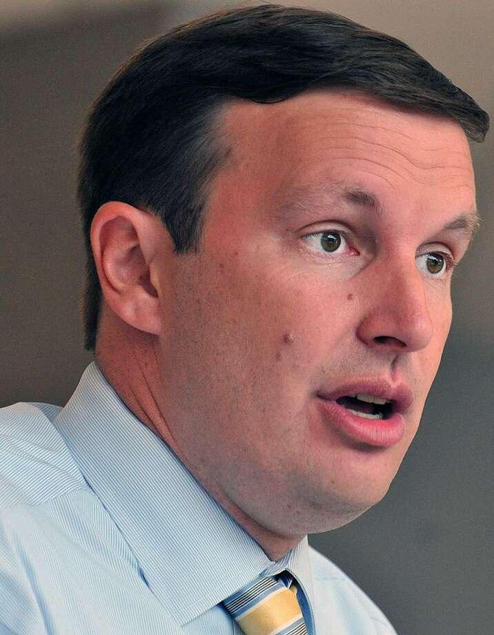 Senator Chris Murphy. Peter Casolino/New Haven Register 8/15/12
