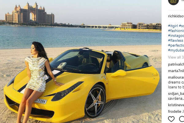 Some of Dubai's richest young people are showing the world what the word luxury really means through their lavish Instagram account.  Photo:  @richkidsofdubai Instagram