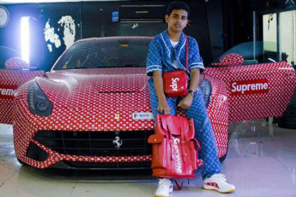 Some of Dubai's richest young people are showing the world what the word luxury really means through their lavish Instagram account.  Photo:  @rsbelhasa Instagram