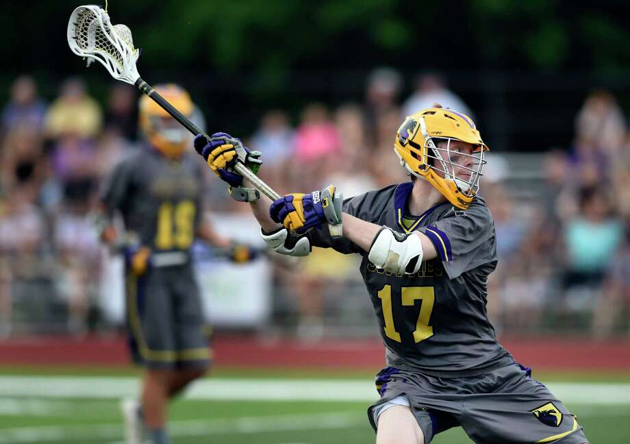 Ballston Spa's Sam Swingruber winds up for a shot on goal during their Class B lacrosse final against Burnt Hills on Friday, May 27, 2016, at Mohonasen High in Rotterdam, N.Y. (Cindy Schultz / Times Union) Photo: Cindy Schultz / Albany Times Union