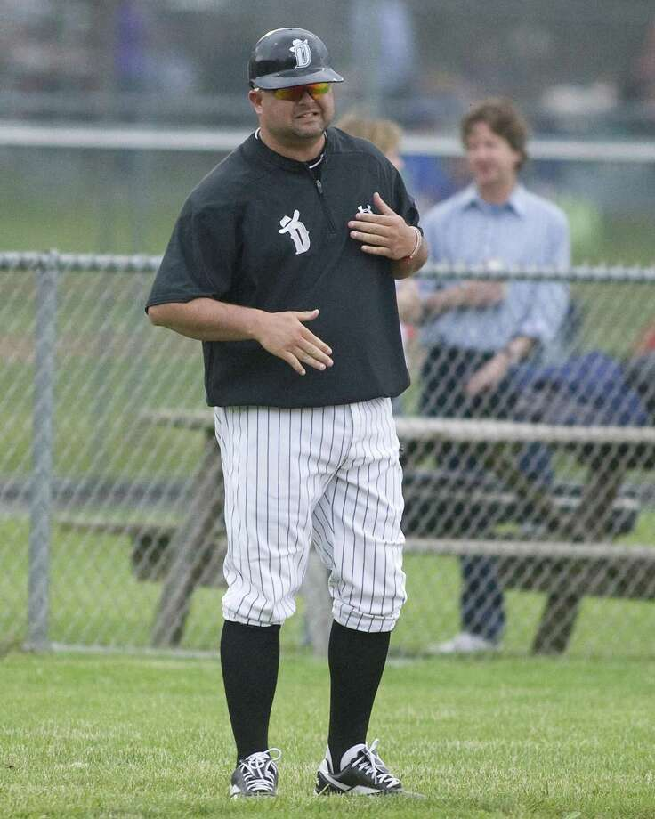 FILE PHOTO: Danbury manager Jamie Shevchik. Photo: Barry Horn / Barry Horn / The News-Times Freelance