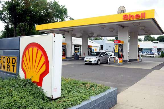 Gas at a Shell Station at 38 West Broad Street in Stamford was $4.79 for regular unleaded on Tuesday, July 31, 2012.