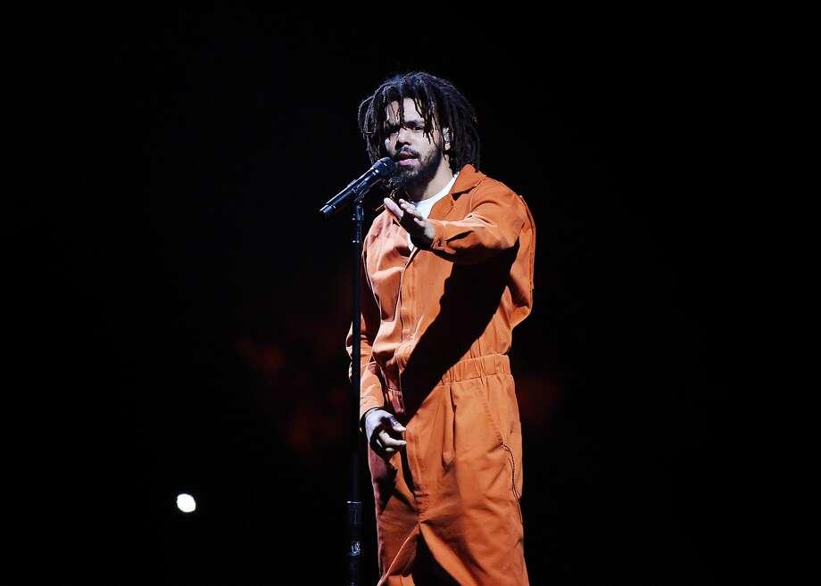 J. Cole tops the Jmblya lineup. Photo: Nicholas Hunt/Getty Images