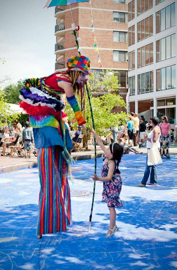 Arts Council of Greater New Haven photo: The 17th edition of Audubon Arts on the Edge is Saturday from noon to 5 p.m. The Arts Council of Greater New Haven, Creative Arts Workshop, ACES Educational Center for the Arts, Neighborhood Music School and New Haven Ballet coordinate this event. / Stephanie Anestis Photography