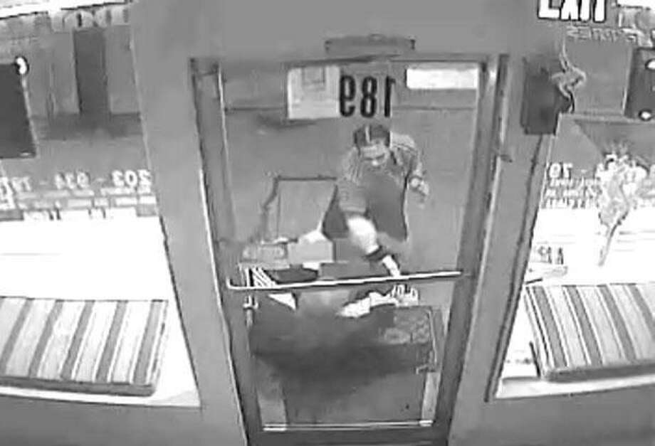Surveillance photo of incident.