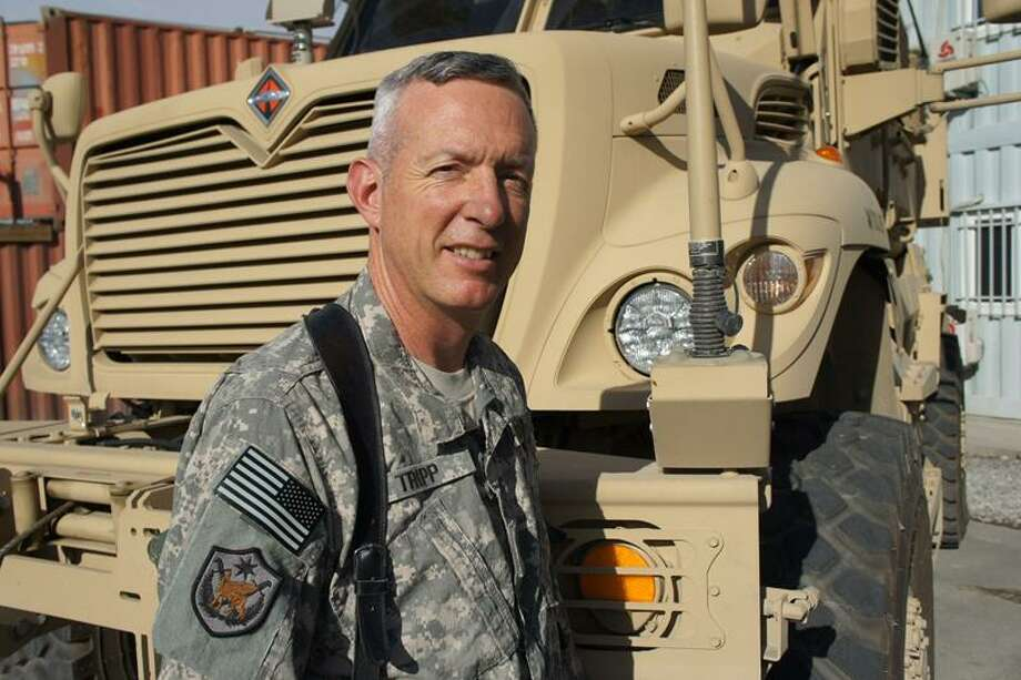 Army National Guard Lt. Col. Phillip Tripp of Ansonia is currently stationed in Afghanistan. U.S. Army photo