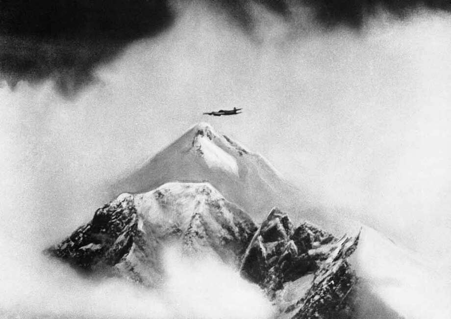 Mt. Everest in July 1945. (AP Photo/Official British Air Ministery Phoito) Photo: ASSOCIATED PRESS / AP2010