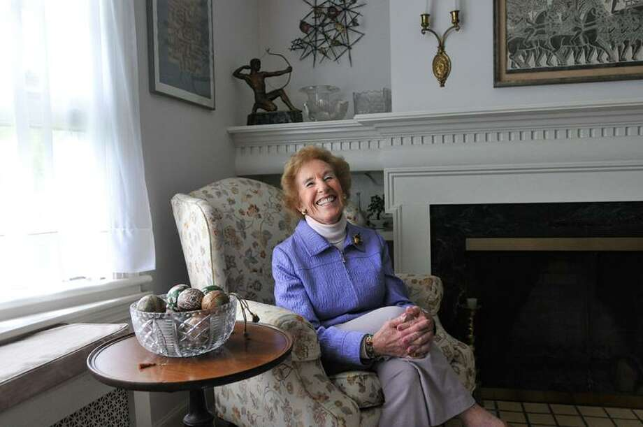 Louise Endel, who turns 90 next week, has spent much of her life serving others, and has served on over 58 boards in the New Haven area. Peter Casolino/Register