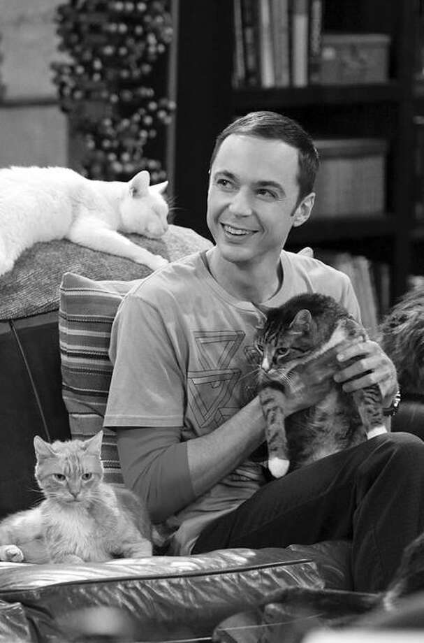 """""""The Zazzy Substitution"""" -- The guys are concerned as Sheldon (Jim Parsons) searches for an alternative to human companionship, on """"The Big Bang Theory"""" at 8 p.m. on CBS. Photo: CBS / ©2010 CBS Broadcasting Inc. All Rights Reserved"""