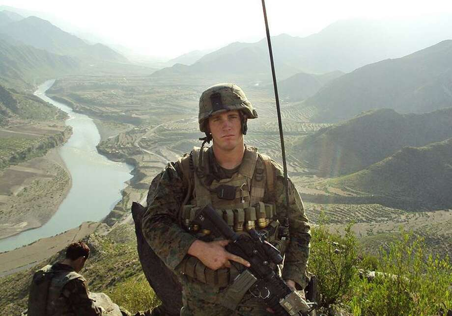 Former Marine Dakota Meyerwill will receive the Medal of Honor today. Associated Press