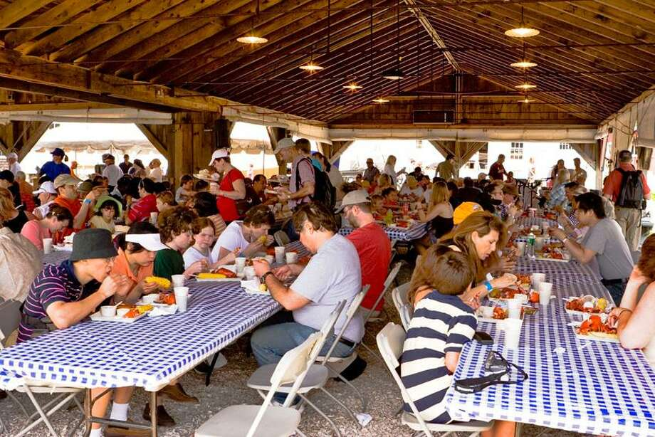 Mystic Seaport photo: Mystic Seaport serves lobsters in the Boat Shed throughout Memorial Day weekend.