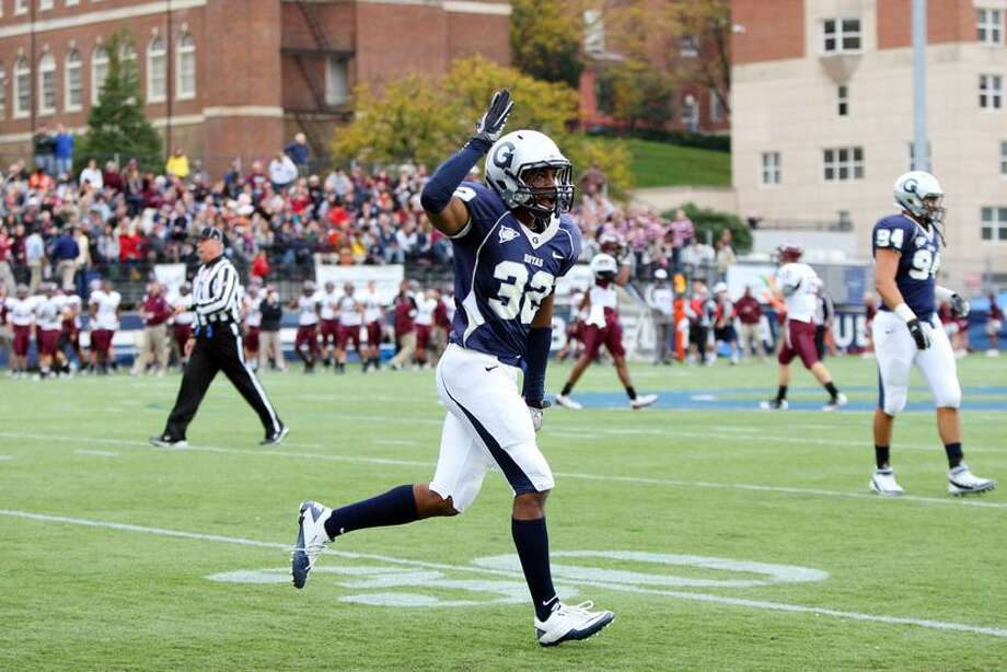 New Haven native Jeremy Moore will lead Georgetown into Saturday's game against Yale. (Contributed photo)