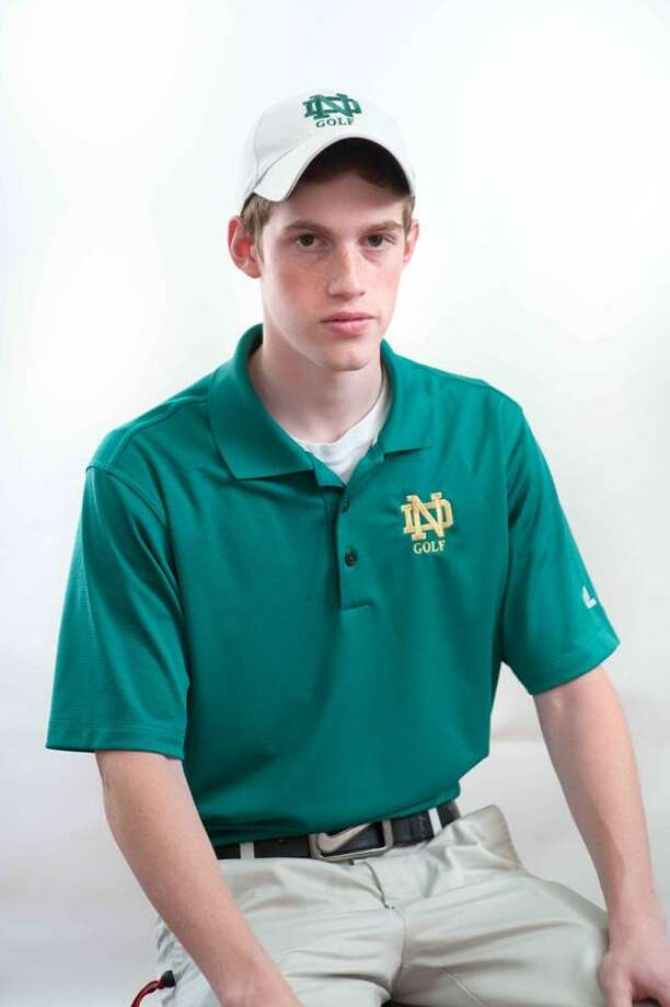 Notre Dame-West Haven golfer Zack Cleary is the Register Athlete of the Week. (VM Williams/Register)