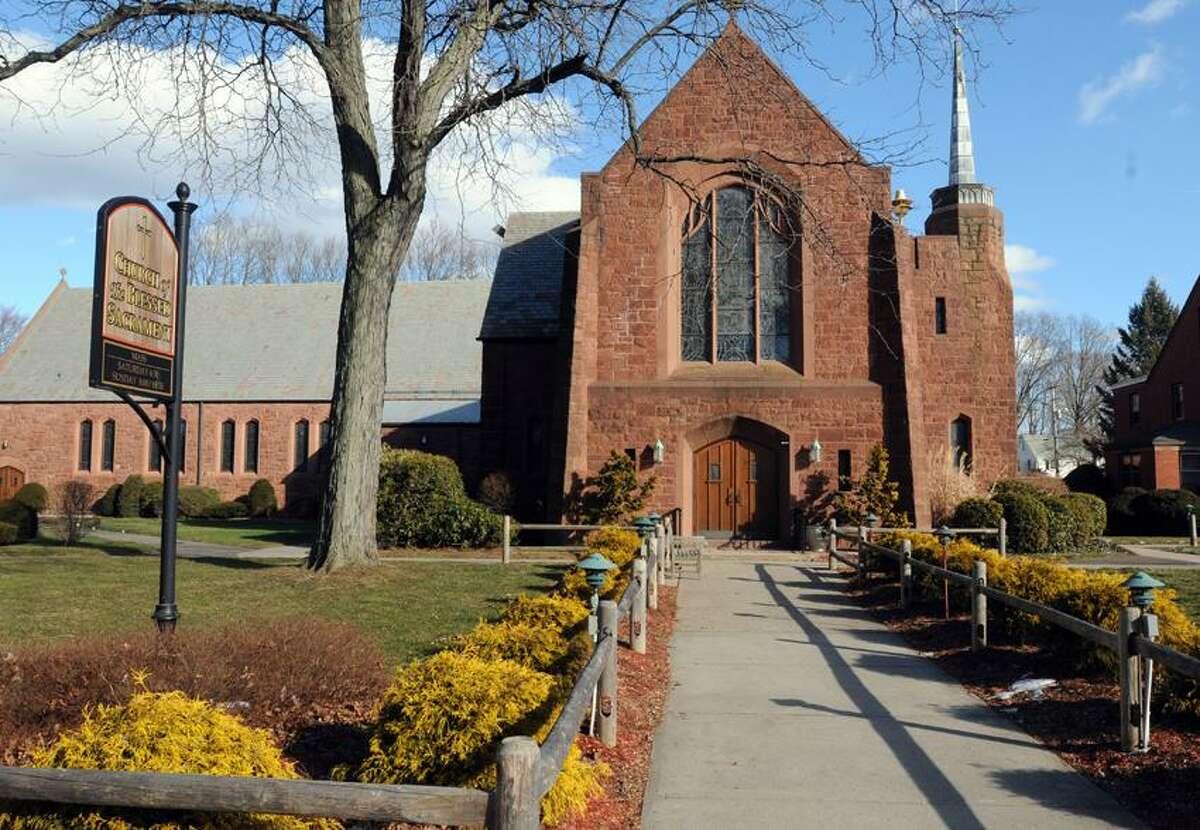 Blessed Sacrament Church in Hamden. Mara Lavitt/Register